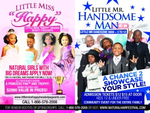 "Little Miss ""Happy"" Headed Pageant"