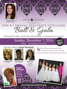 Devine Creations 8th Annual Debutante Cotillion Ball & Gala