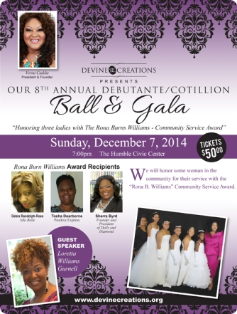 Devine Creations 8th Annual Debutante Cotillion Ball & Gala
