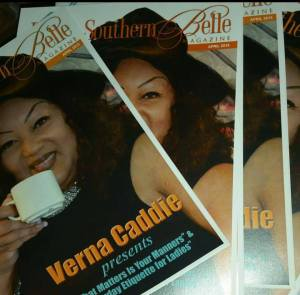 Ms. Caddie, the Founder of Devine Creations and Devine Southern Belle Magazine had a very good time, meeting everyone during this year's Megafest.